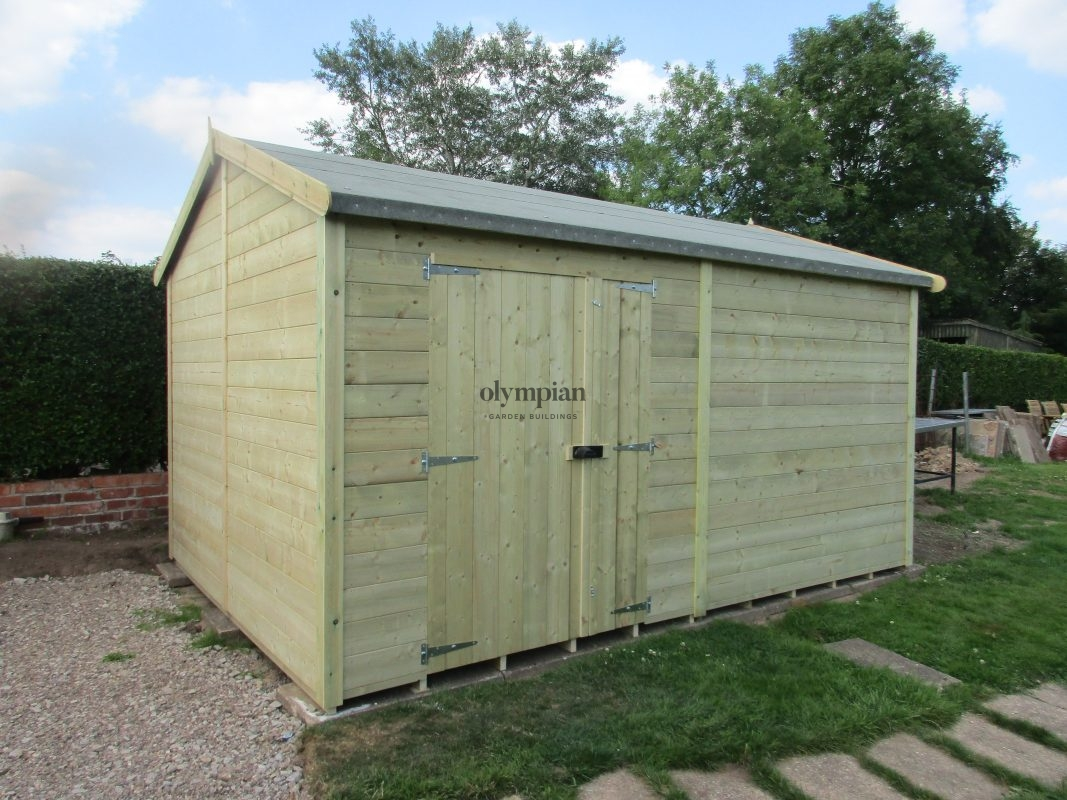 Large Apex Shed 66