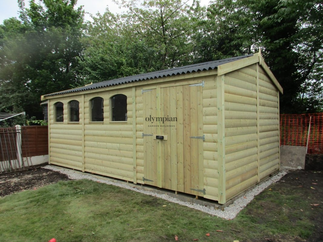 Large Apex Shed 68