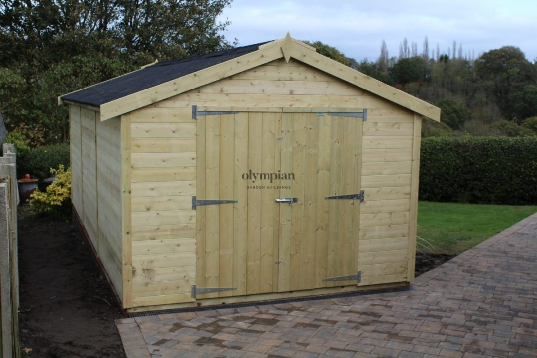 Large Apex Shed 70