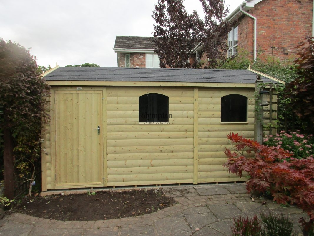 Large Apex Shed 73