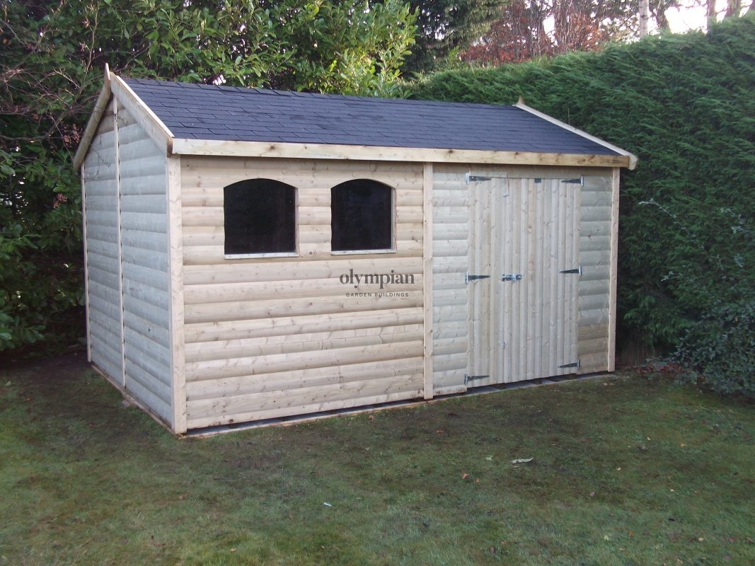 Large Apex Shed 7