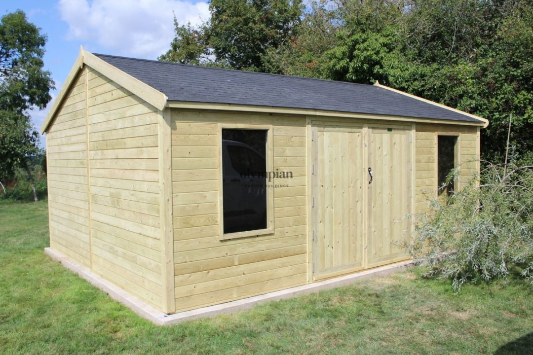 Large Apex Shed 90