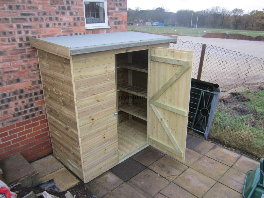 Lean-To Storage Sheds