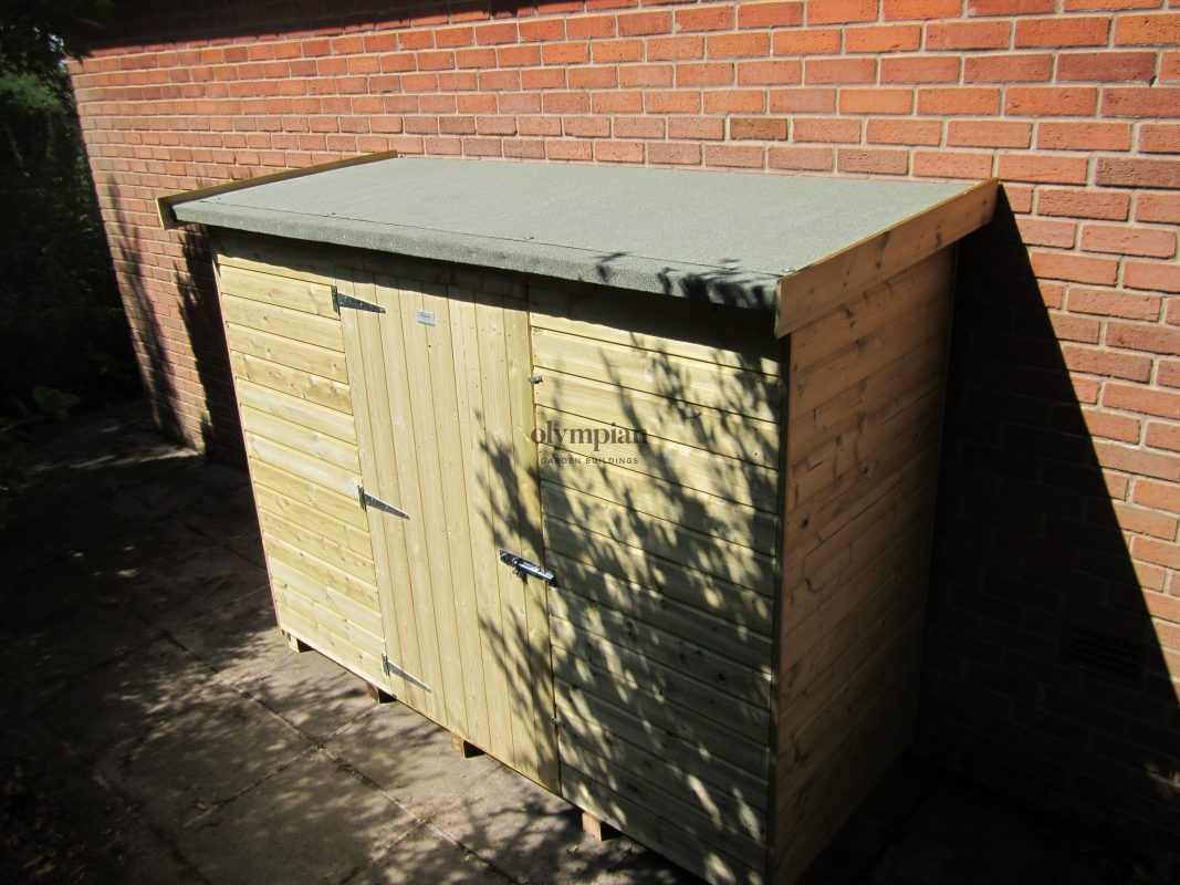 Lean-To Storage Shed