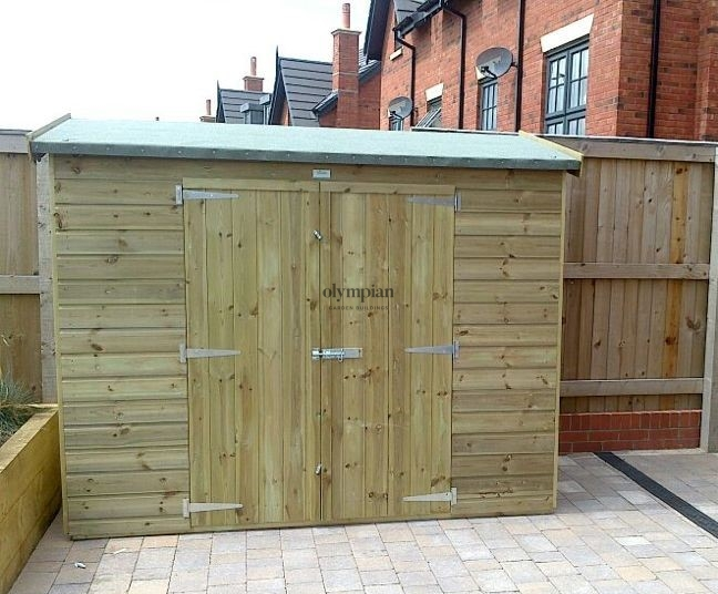 Lean-to lean to shed installed in Trafford