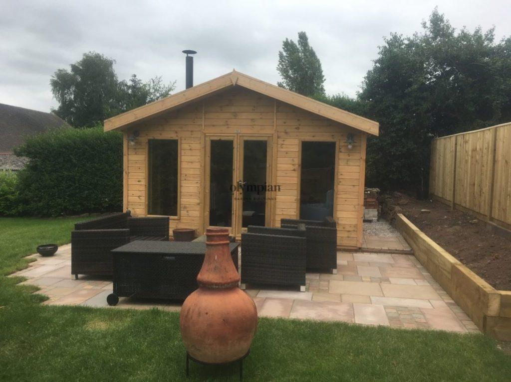 All Year-Round, Multi-Purpose Bespoke Garden Building, Congleton