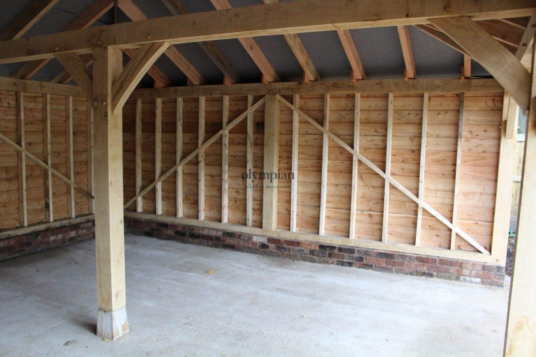 Oak Frame Garages 7