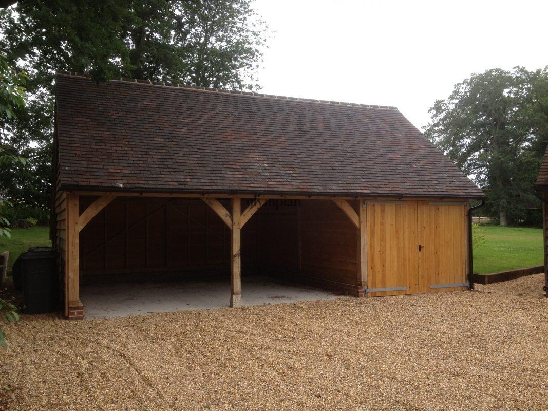 Oak Frame Garages 10
