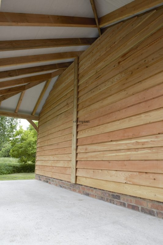 Oak Frame Garages 11