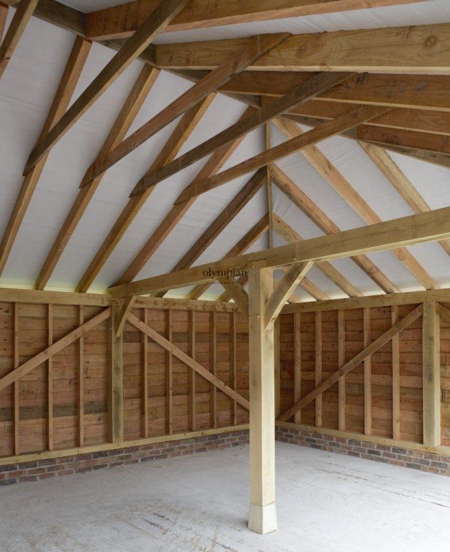 Oak Frame Garages 1