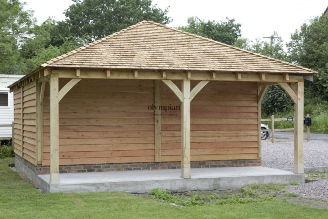 Oak Frame Garages 4