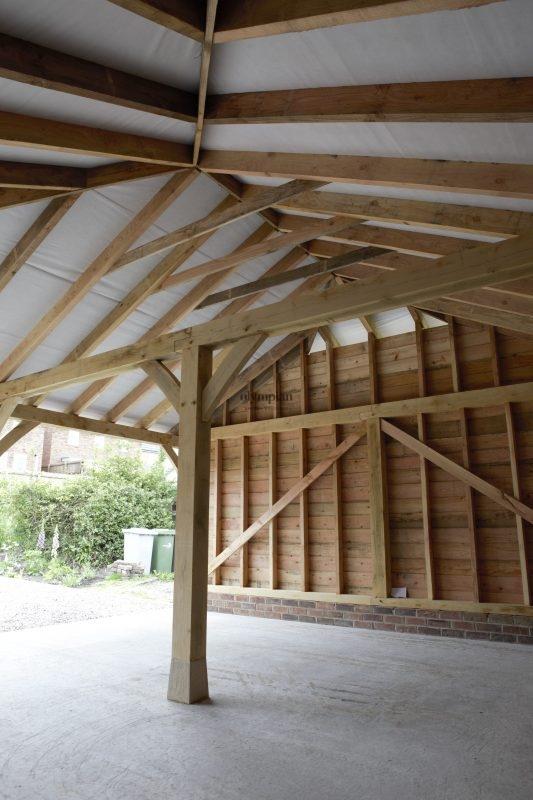 Oak Frame Garages 5