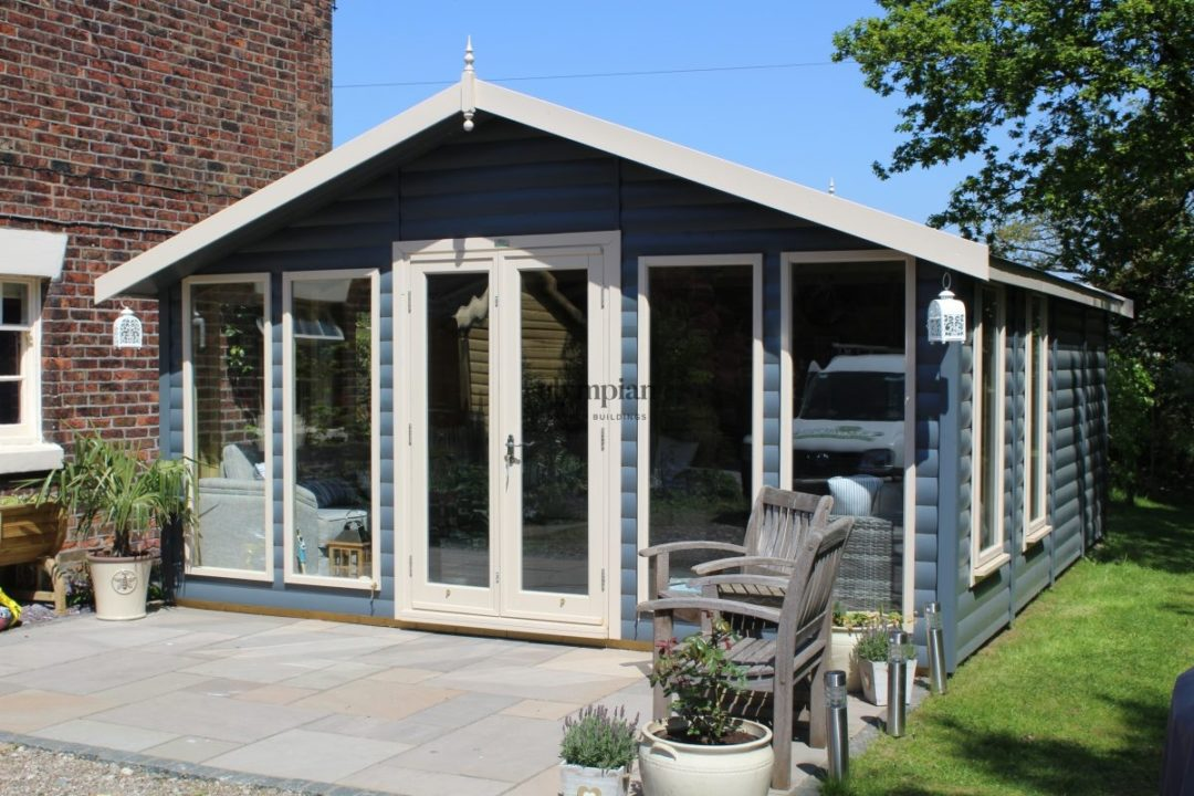 Outdoor Dining Room in Holmes Chapel 5