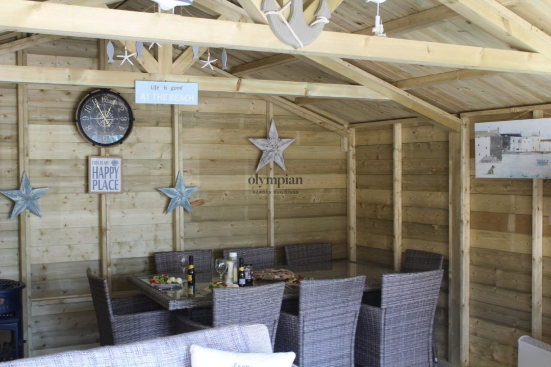 Outdoor Dining Room in Holmes Chapel 6