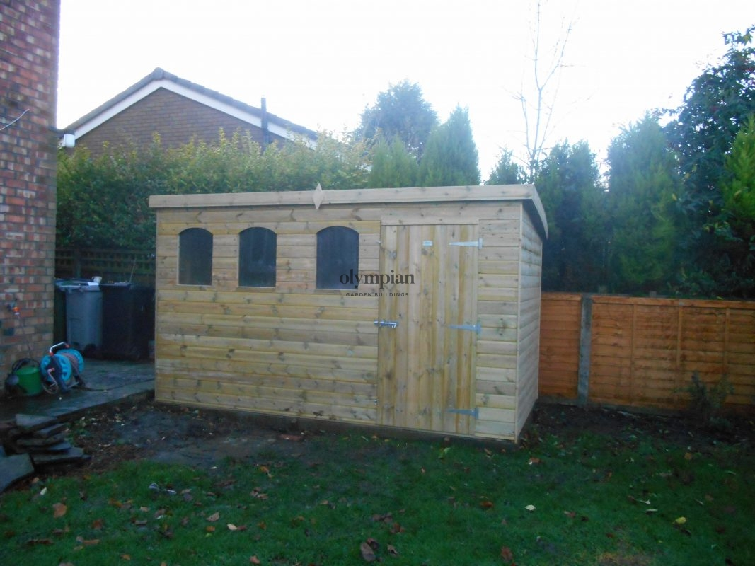 Pent Roof Workshops 12
