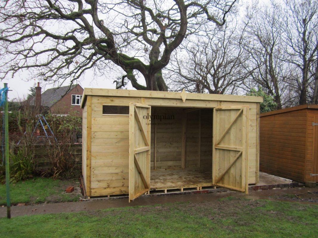 Pent Roof Workshops 13