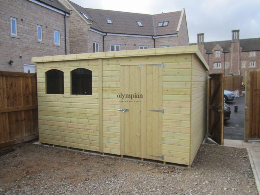 Pent Roof Workshops