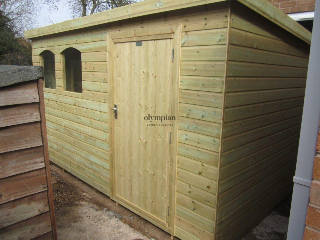 Pent Roof Workshops 20