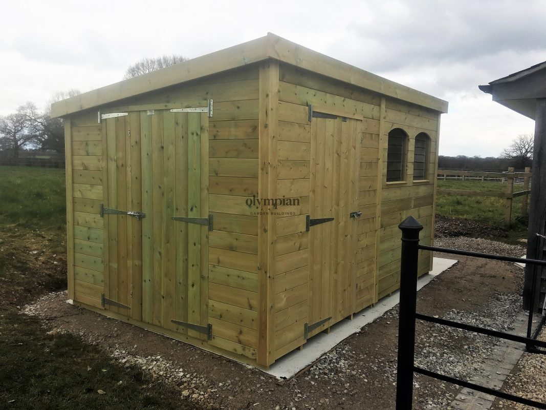 Pent Roof Workshops 26