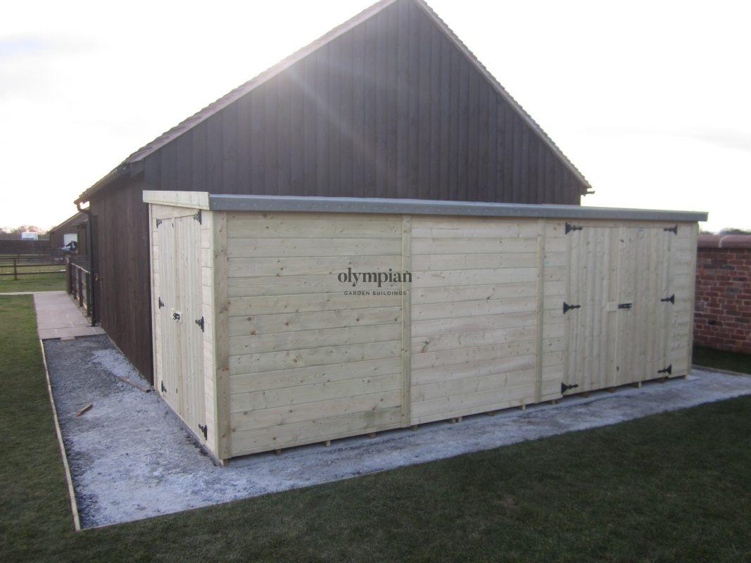 Pent Roof Workshops 30