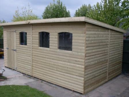 Pent Roof Workshops 39