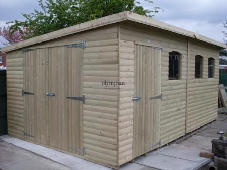 Pent Roof Workshops 40
