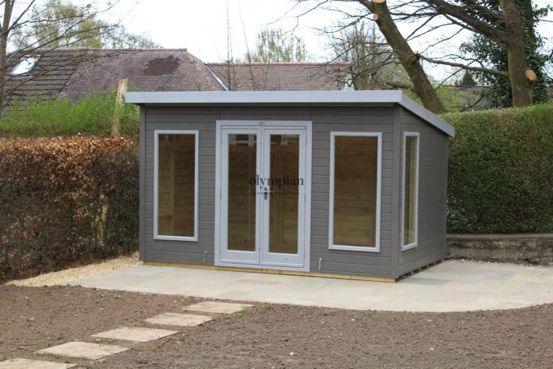 Pent Roof Garden Studio Office