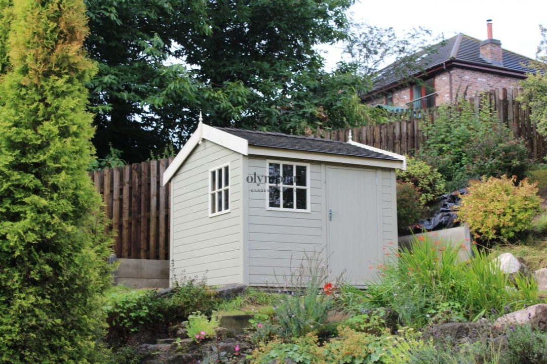 Posh Pretty Shed Painted Prestige Workshop