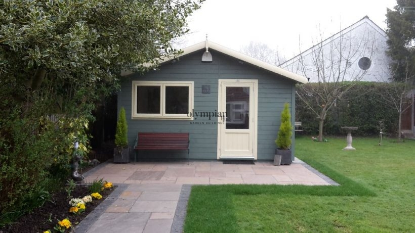 Outdoor Sewing Room In Derbyshire