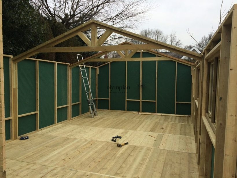 External Sewing Room In Derbyshire
