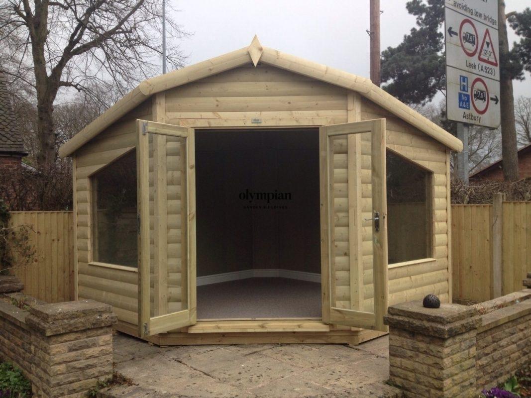 Small Garden Office 8