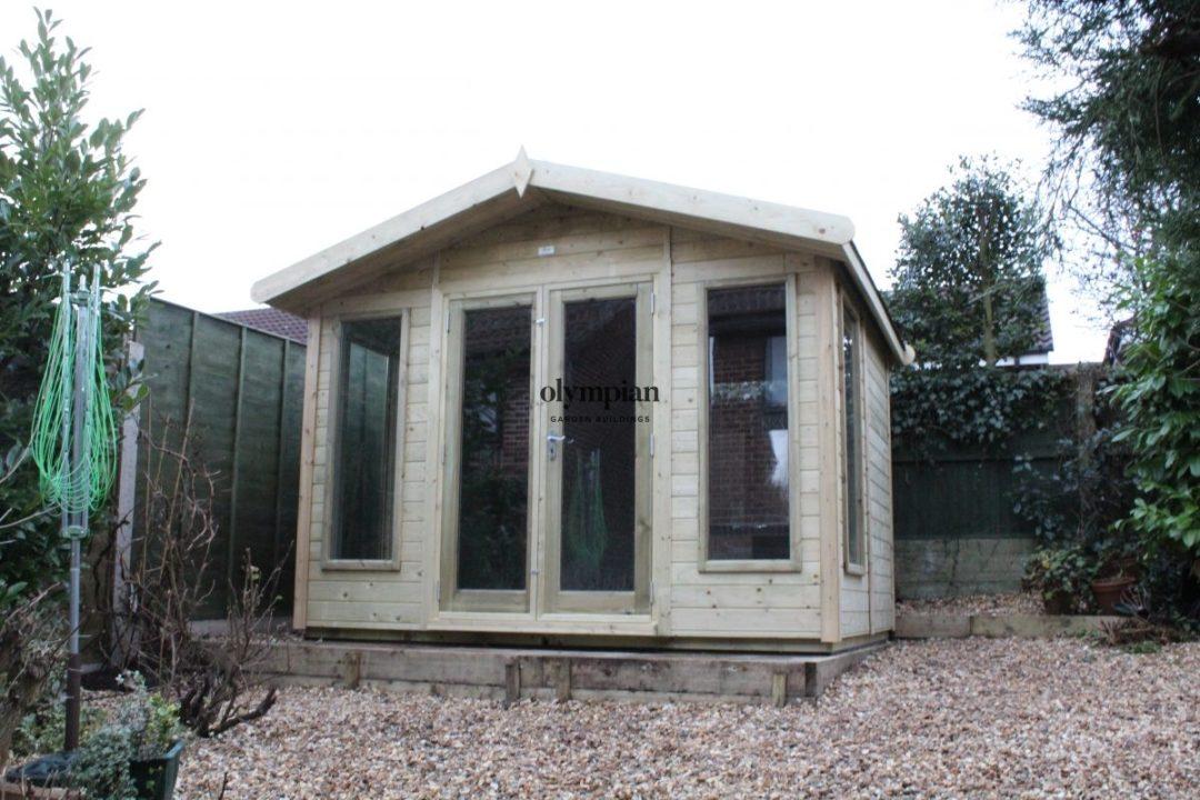 Small Garden Office 12