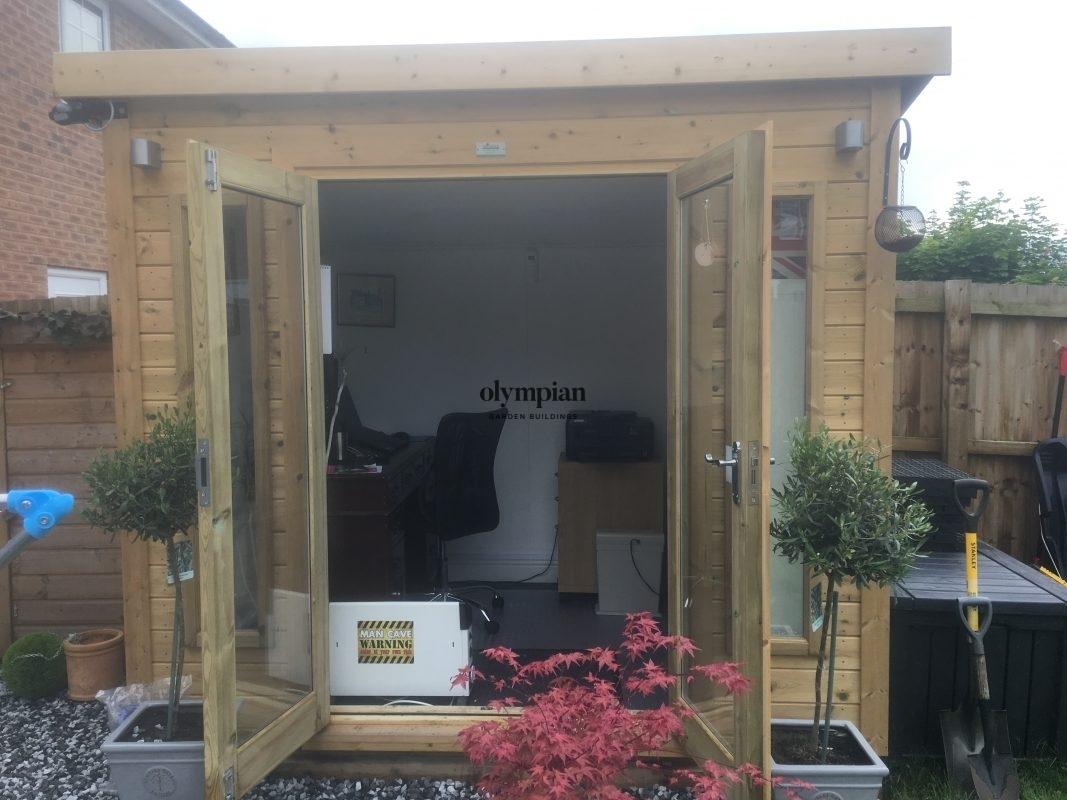 Small Garden Office 40