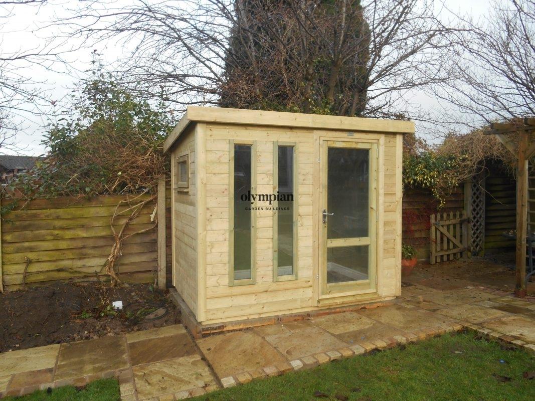 Small Garden Office 5