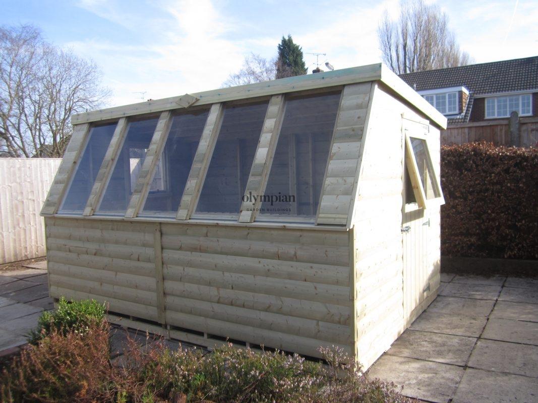 Solar Potting Shed
