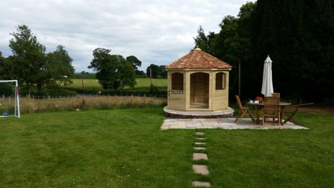 Hexagonal Summerhouse
