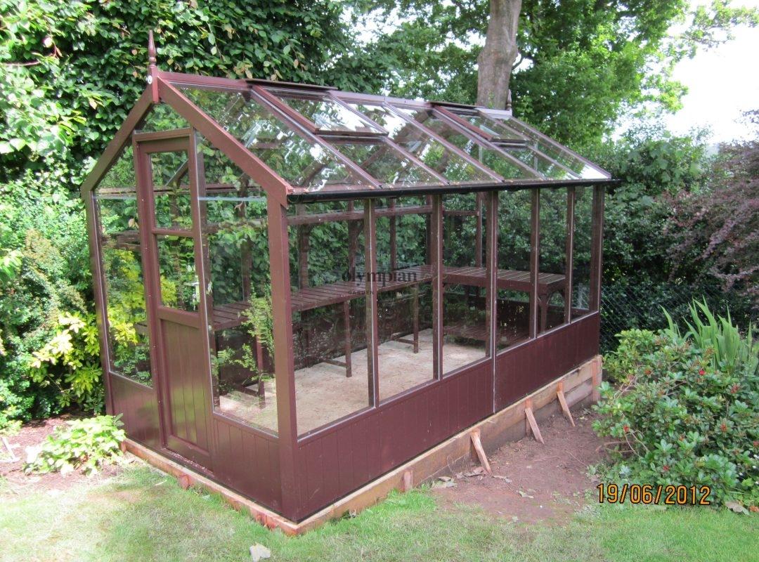 Timber Greenhouses 9