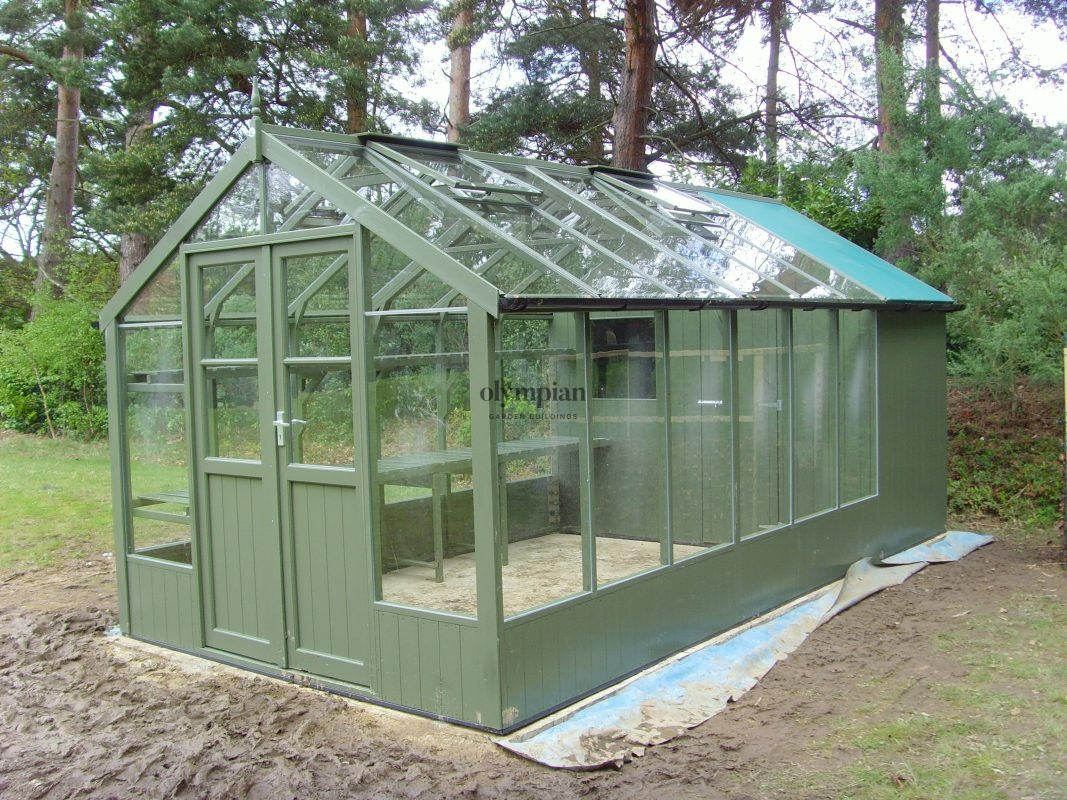 Timber Greenhouses 11
