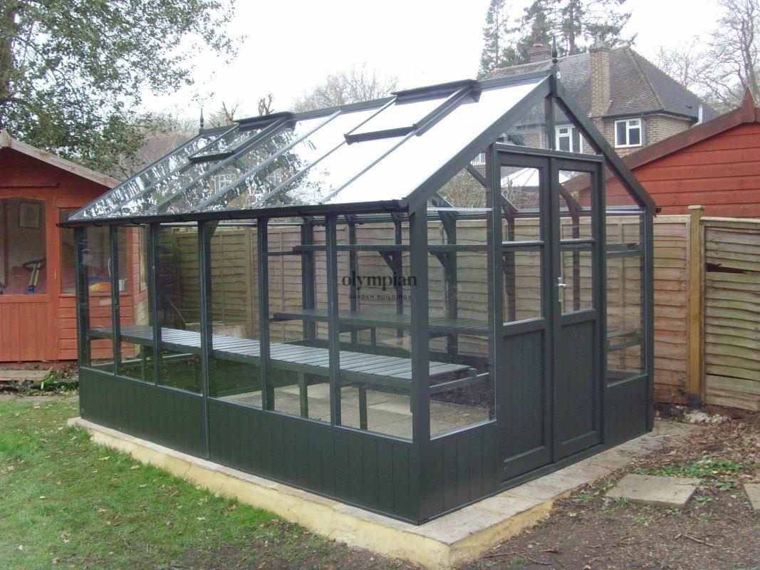 Timber Greenhouses 12