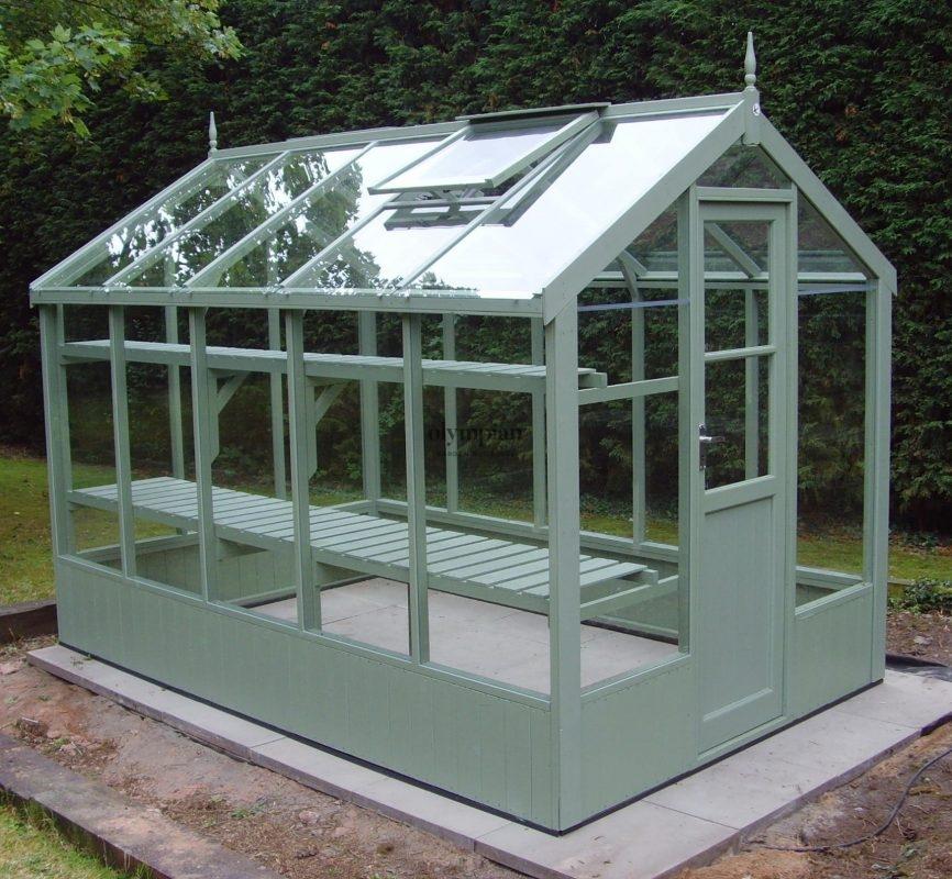 Timber Greenhouses 1