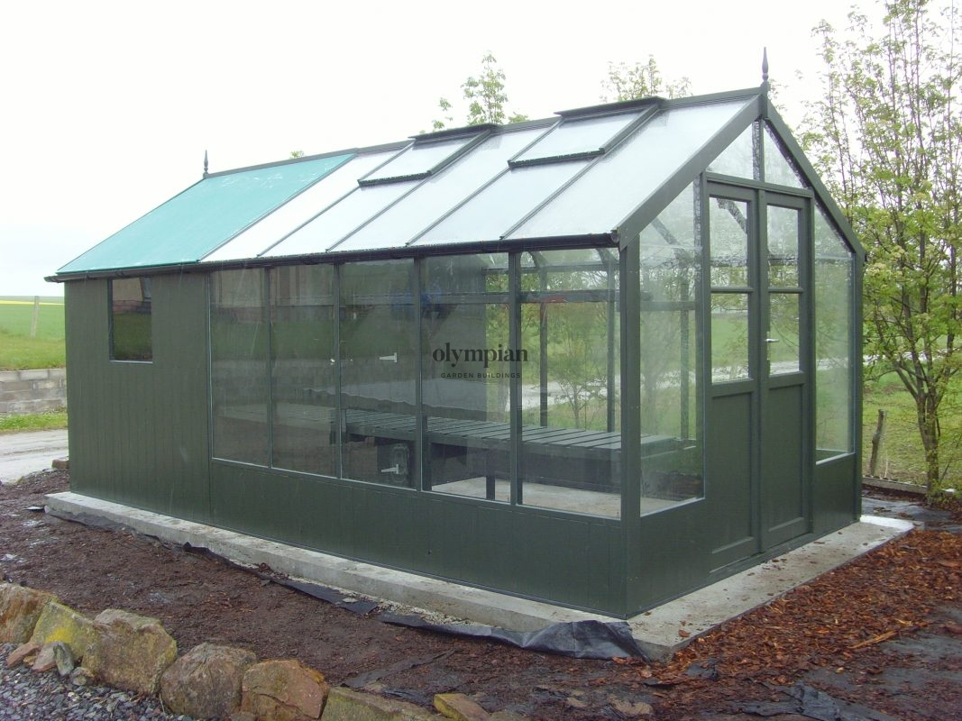 Timber Greenhouses 2