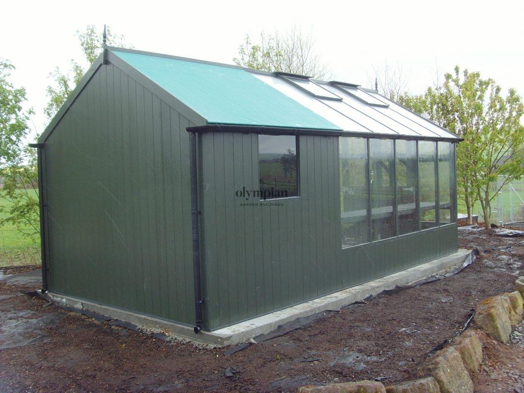 Timber Greenhouses 4