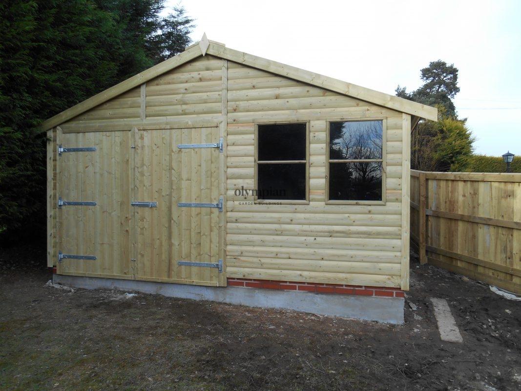 Wooden Garages 8