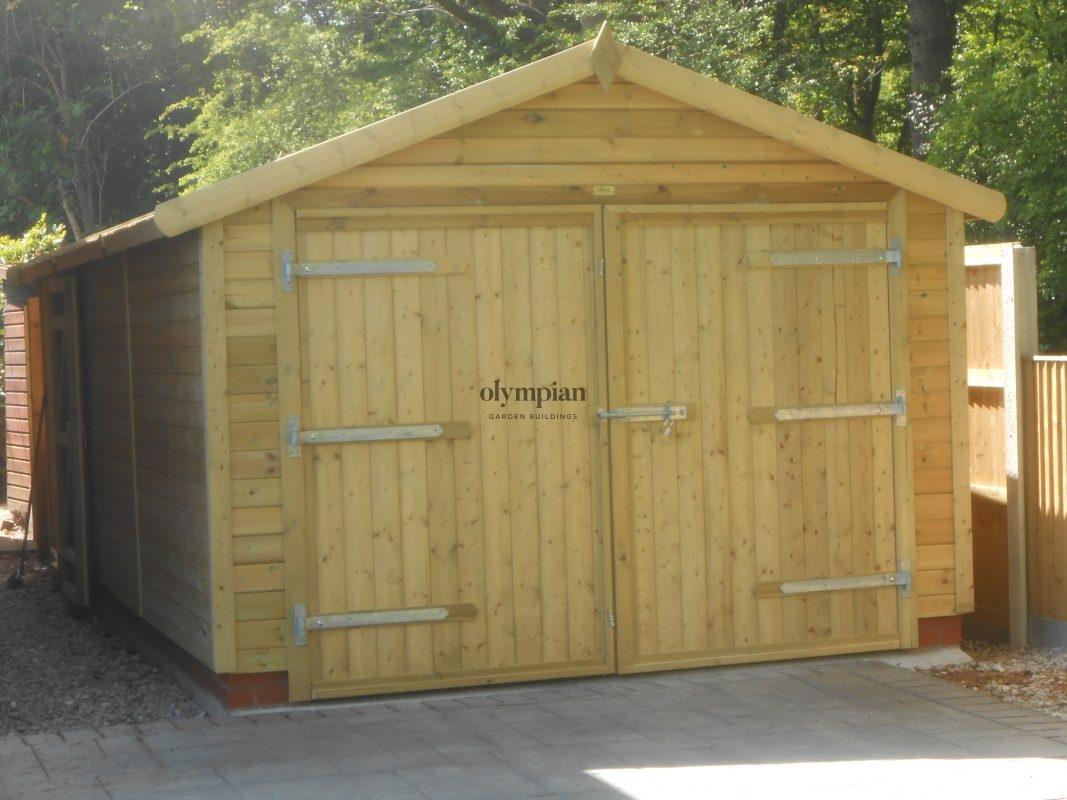 Wooden Garages 9