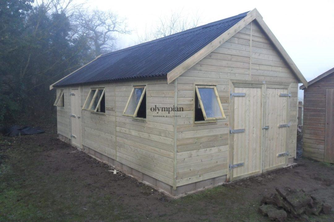 Wooden Garages 12