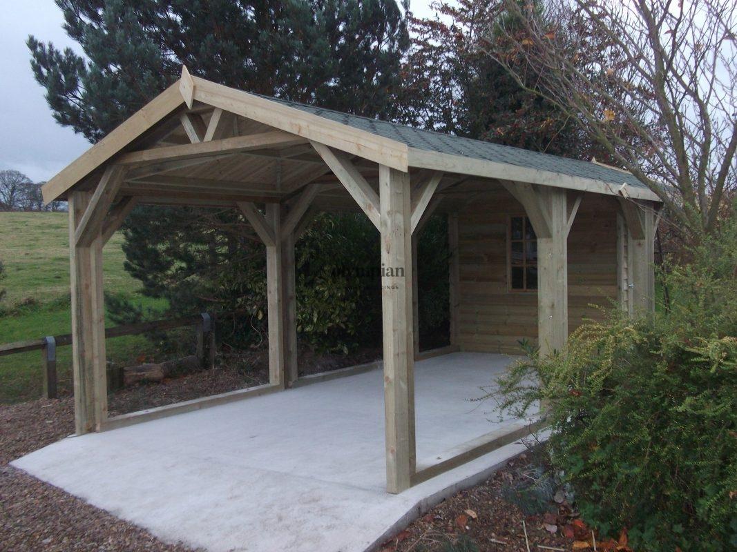 Wooden Garages 13