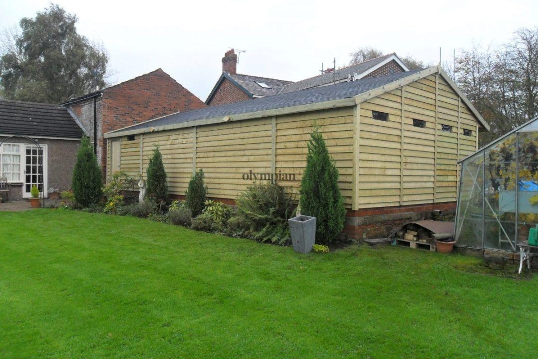 Wooden Garages 14