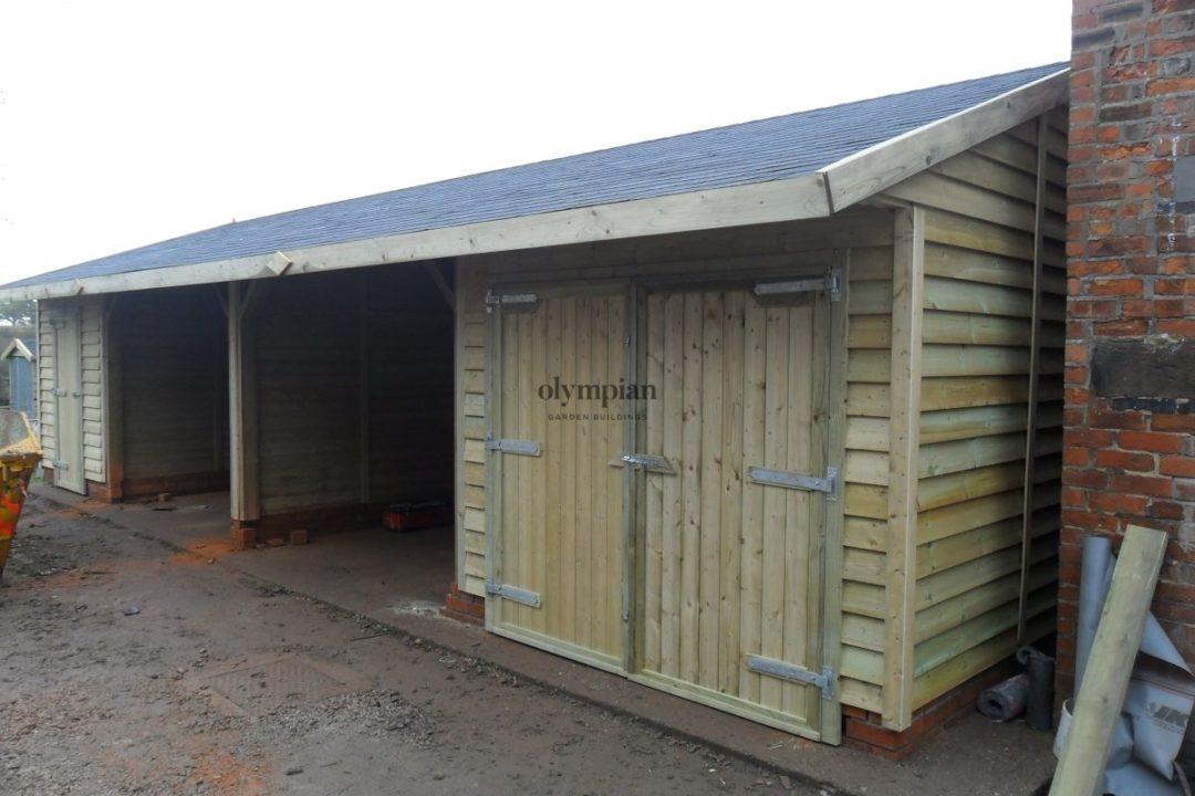 Wooden Garages 15