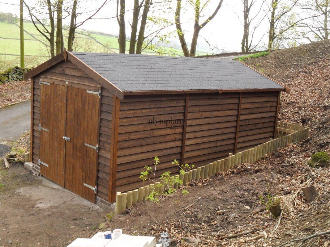 Wooden Garages 16