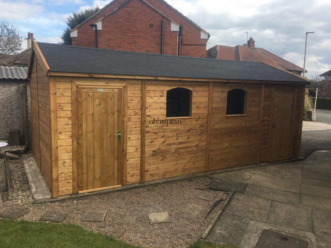 Wooden Garages 21